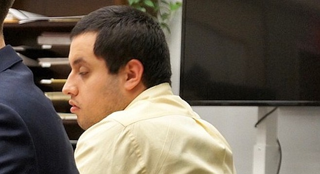 Roberto Flores bragged about striking the police officer to impress his cellmates, said his lawyer.
