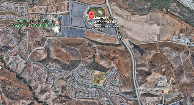Residents above Mattress Firm Amphitheatre don't complain much about the noise — the traffic, though...