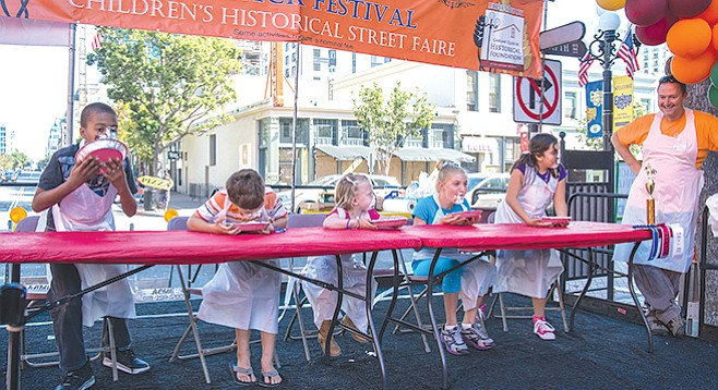Sunday, November 5: Fall Back: Children's Historic Street Faire