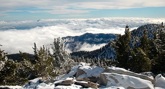 The view from San Jacinto Peak
