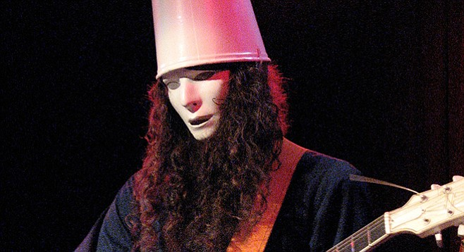 Buckethead is at Music Box on December 15