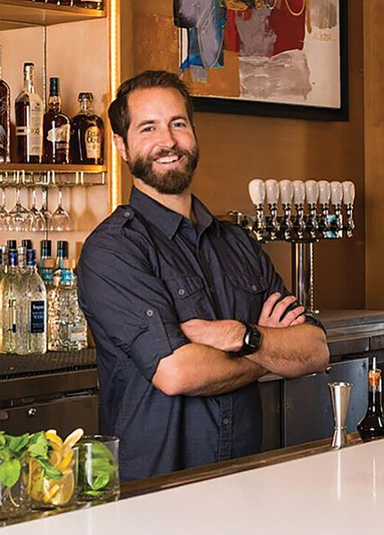 "Bar manager Danny Kuehner:""We're donating a dollar of every cocktail to the ACLU."""