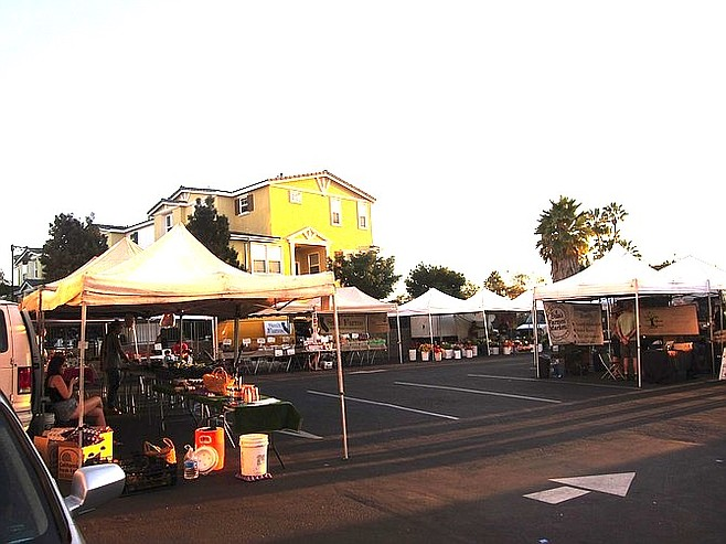 The Sprouts parking lot was usually hopping with farmers' market patrons.