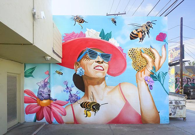 A Byers mural in O.B.