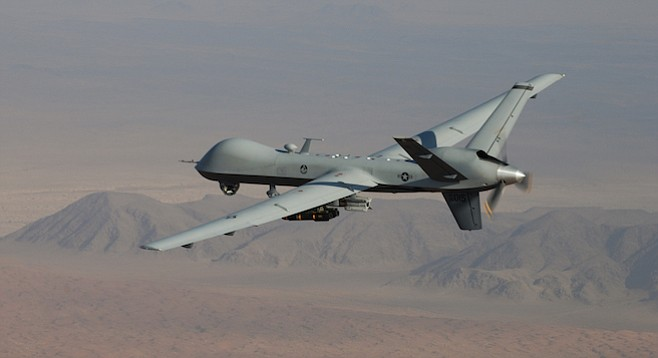 U.S. Air Force MQ-9 Reaper drone