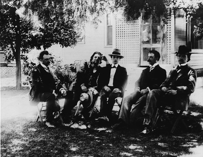Musicians who appeared at Granger Hall, c. 1900