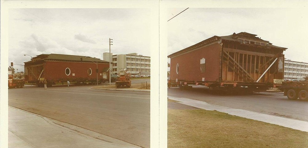 The music hall was moved in 1969.