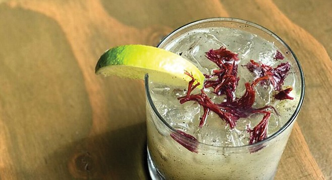 "Seaweed Margarita — ""We didn't want the seaweed to be overbearing."""