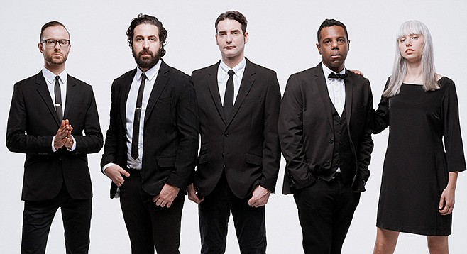 Indie pop rockers the Dears, from Montreal to the Casbah