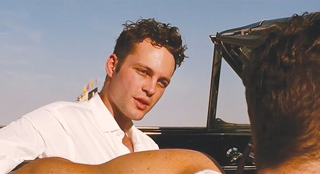 Vince Vaughn in Swingers— a surprise source of eloquence.