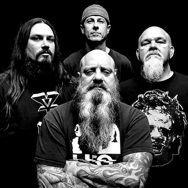 Sludge-metal pioneers Crowbar