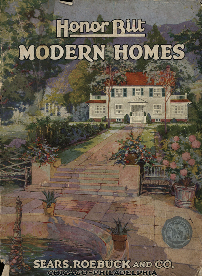 The HonorBilt model was the highest quality of Sears' three lines of kit homes.