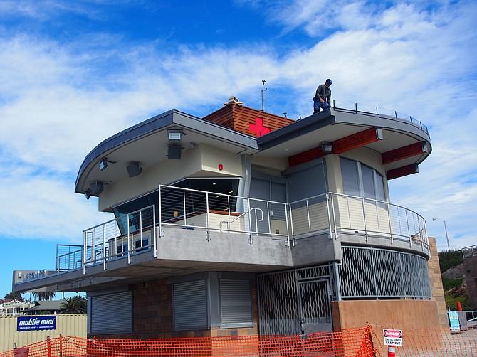 Moonlight Beach Marine Safety Center Design: Stephen Dalton Architects Photo: Jennie Lynn Grunstad
