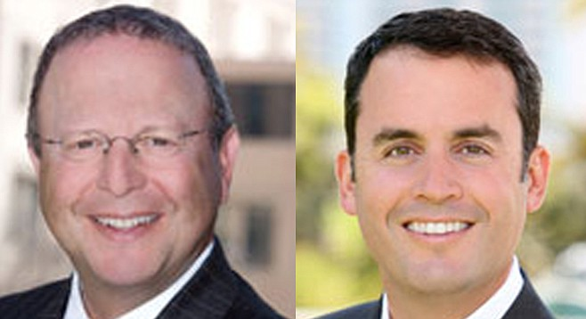 Two influence-peddlers pushing the puck for San Diego Gulls owner H&S Ventures: Ben Haddad and Craig Benedetto