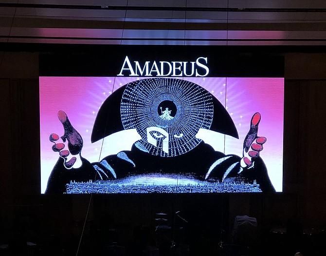 Director's cut of Amadeus at Symphony Hall. Photo Credit: Garrett Harris