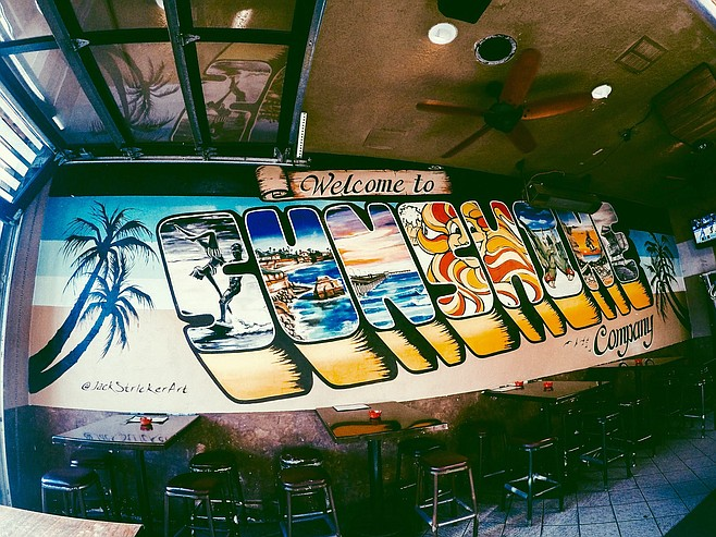 The new mural by Jack Stricker
