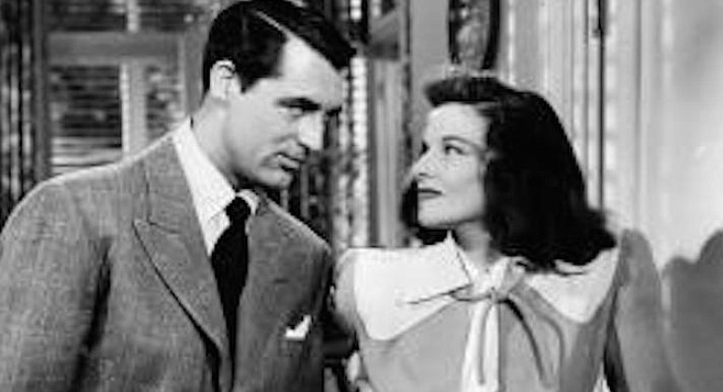 Grant and Hepburn in Holiday</em