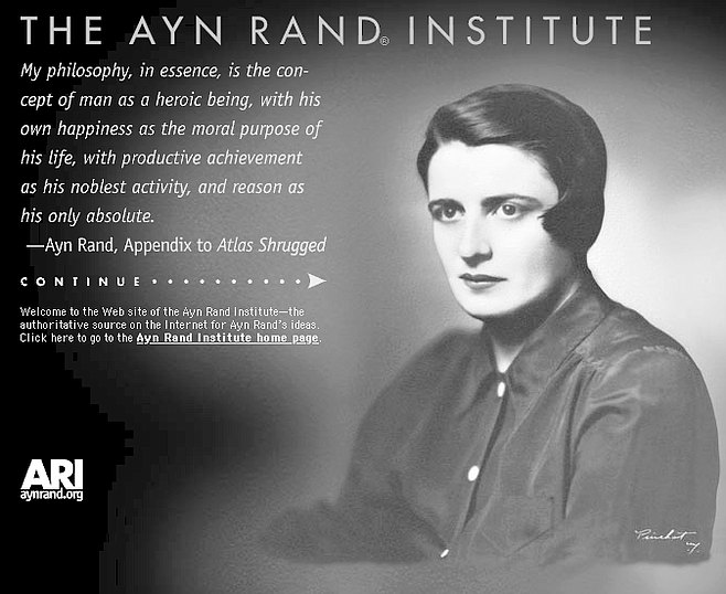 "Ayn Rand Institute site:.""A is A. Facts are facts."""
