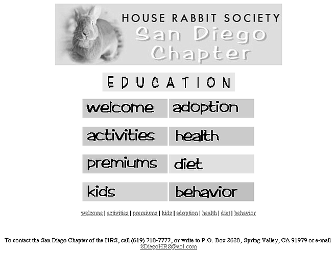 "San Diego House Rabbit Society. ""Spend time just sitting quietly on the floor."""