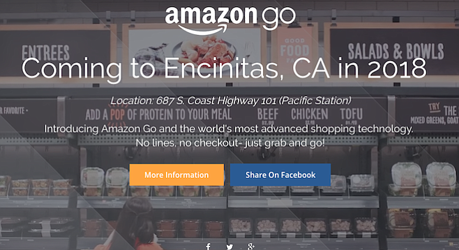 Fake Amazon Go ad?