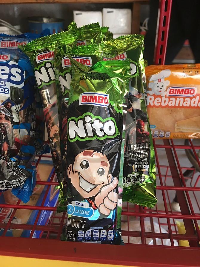 """Bimbo's """"Nito"""" pastry"""