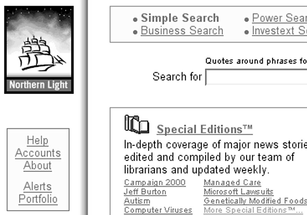 Northern Light has best search engine, if the volume and inventiveness of query returns is any indication.