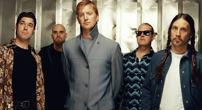 Queens of the Stone Age stops skipping San Diego
