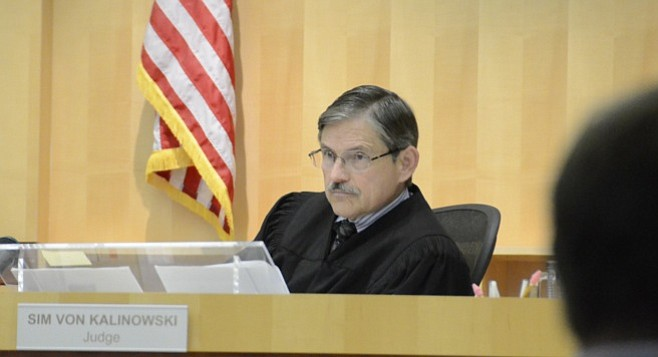 The same judge who heard trial, Sim von Kalinowski, will pronounce sentence in December.