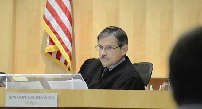The same judge who heard trial, Sim von Kalinowski, will pronounce sentence in December.
