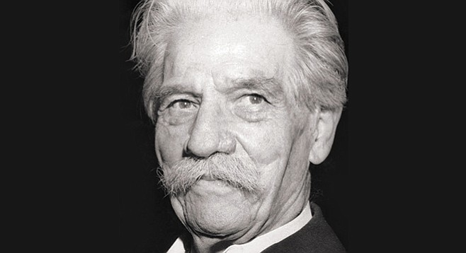 Albert Schweitzer: put his skills at the service of the poor of Africa