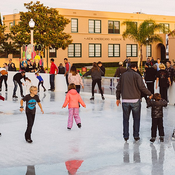 The ice-skating season begins at Liberty Station