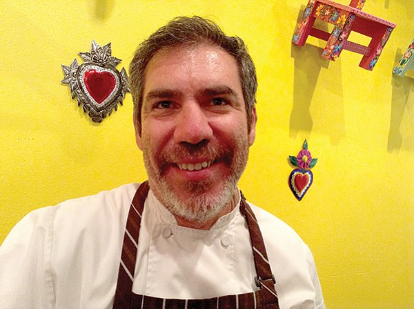 Chef-owner Alejandro Martínez also owns the French-style Chez Loma.