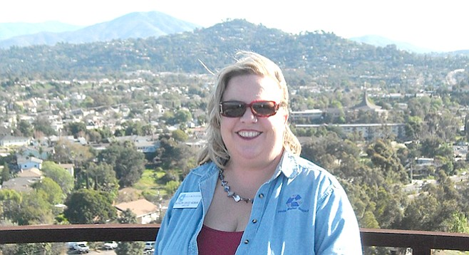 Kathleen Coates Hedberg, who represents the Helix Water District on the authority's board, was told she can't participate in SDG&E deal-making.