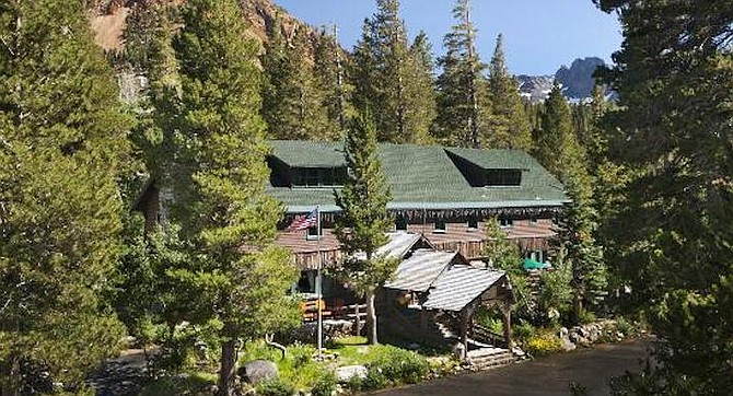Tamarack Lodge. In the summer, my  dad repaired roofs and dug trenches and oversaw the cleaning crews.