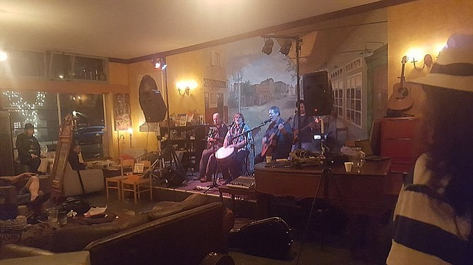 Rebecca's has been a haven for musicians, artists, and poets.