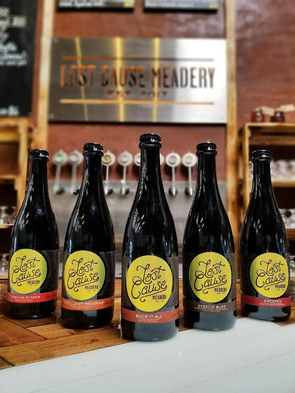 Bottles available from Lost Cause Meadery