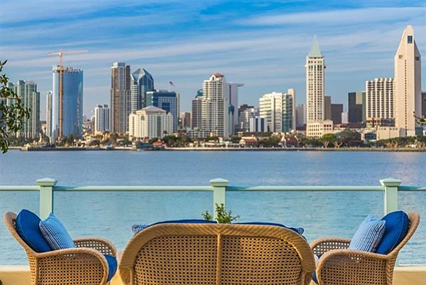Perhaps San Diego's largest private deck to enjoy the skyline
