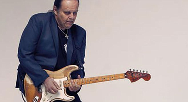 Walter Trout returns to the Belly Up for the fourth time in six years