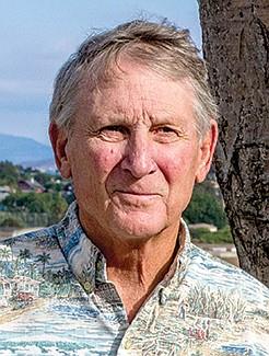 Horticulturist John Blocker is a fan of the dragon tree.