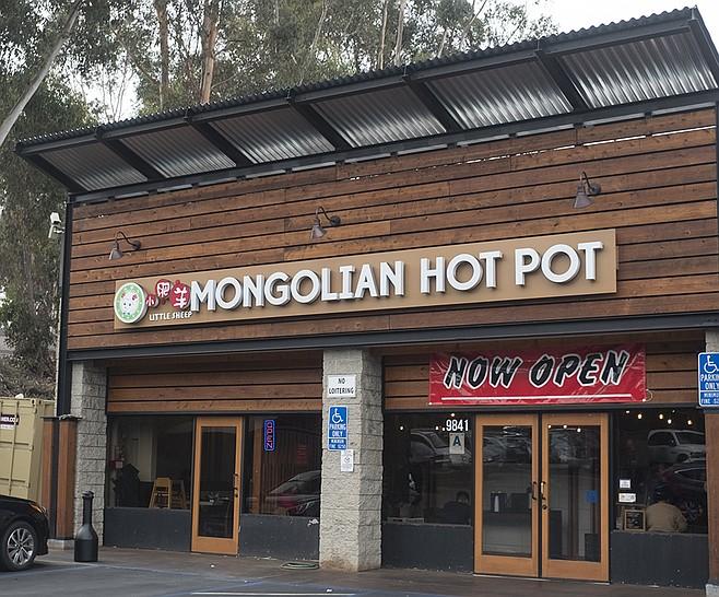 Scripps Ranch location of the Little Sheep Mongolian Hot Pot chain