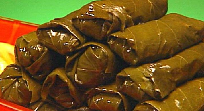 When times are hard, I still make her stuffed grape leaves.