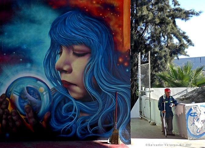 Neighborhood Photos Tijuana,Baja California,Mexico Mural in Otay.