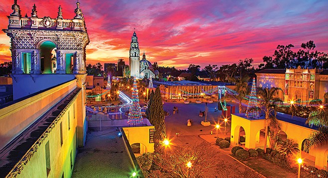 Friday, December 1: Balboa Park December Nights