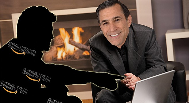 """Darrell Issa sent a staffer to Seattle for an Amazon-sponsored """"fireside chat"""" that involved topics described as """"telecom policy, cybersecurity issues, and transportation modernization, among other themes."""""""