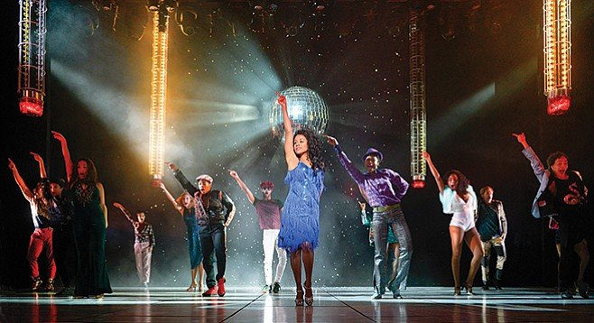 La Jolla Playhouse's Summer — just about every song gets framed like a finale.