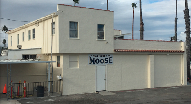 Oceanside's Moose Lodge will soon host bands on Fridays.