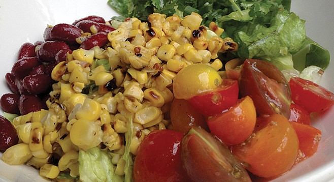 Veggie and grain salad