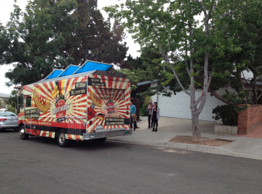 Food truck at 3920 Kenosha Avenue in Clairemont