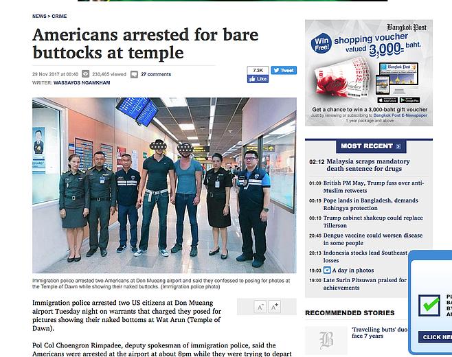 The Bangkok Post story
