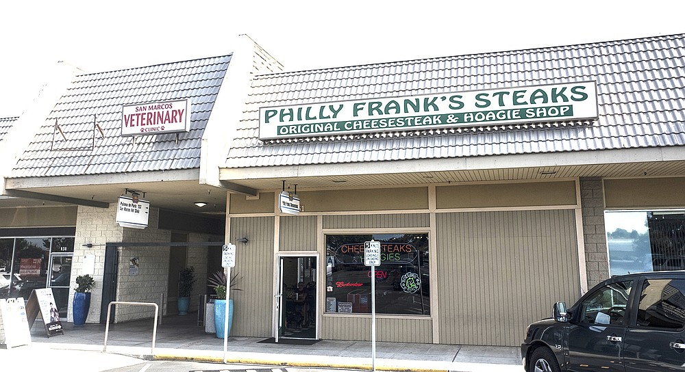 A humble cheesesteak maker in a San Marcos strip mall.